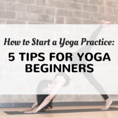 How to start a yoga practice – 5 tips for yoga beginners