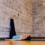 Yoga for relaxation - 5 yoga poses to do after a long day - legs up the wall - Argentina Rosado Yoga