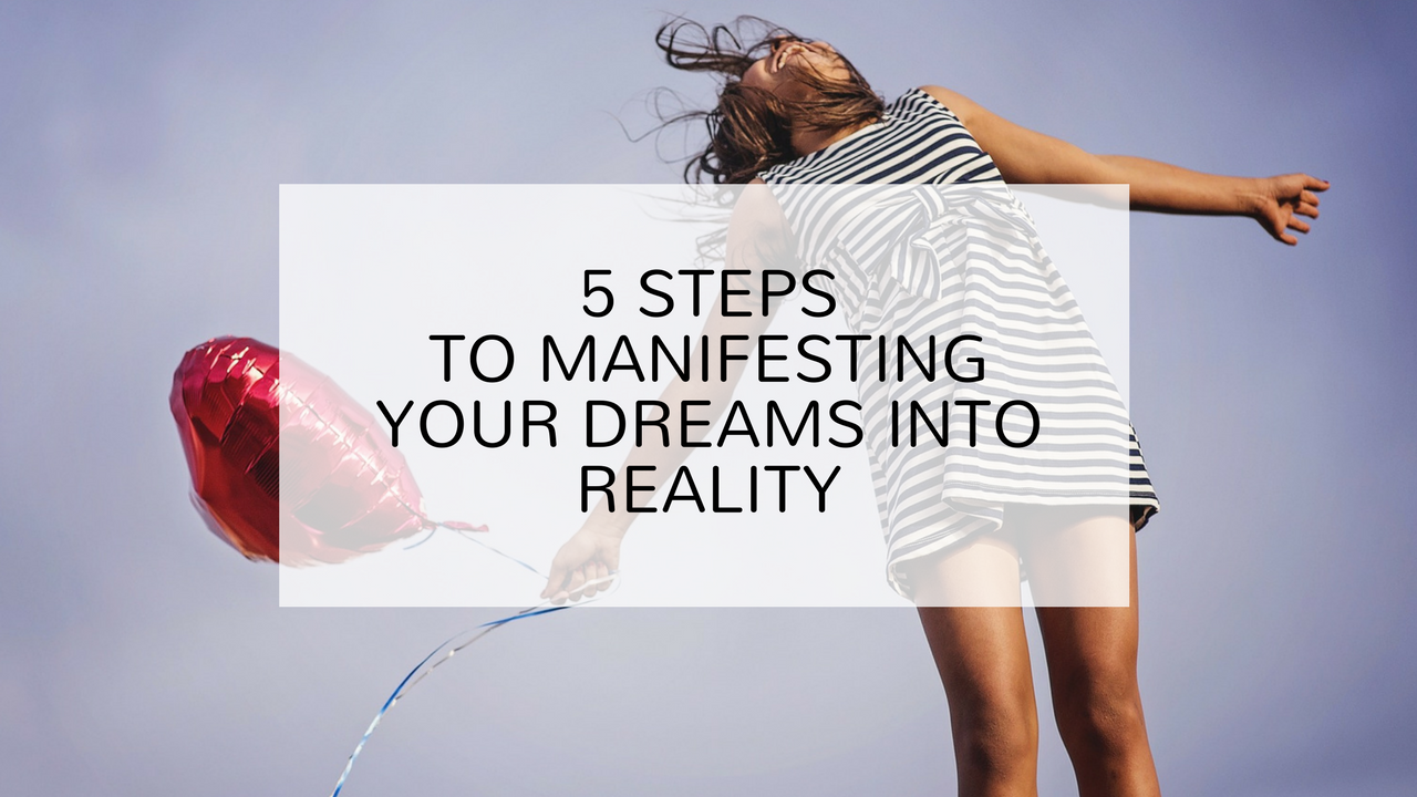 5 steps to manifesting your dreams into reality. Argentina Rosado Yoga