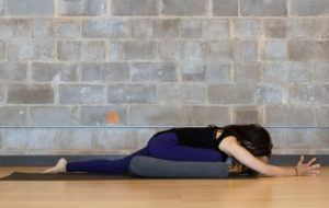 yoga poses for low back pain relief  supported pigeon